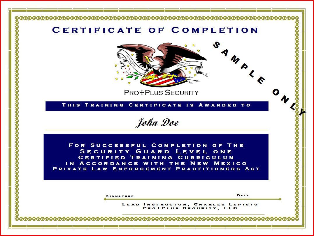 Change certificate template security images certificate design and security guard certificate template choice image certificate change certificate template security images certificate design and training yadclub Choice Image